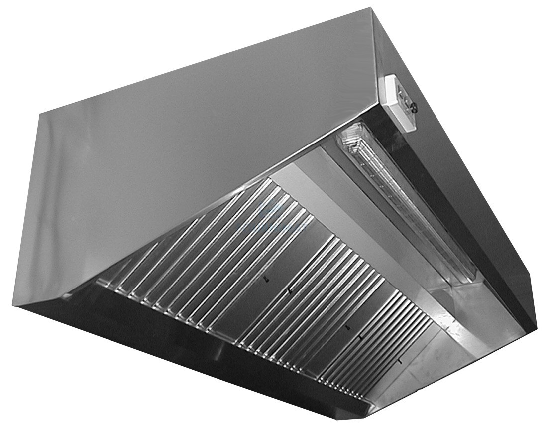 hotte en inox mural ventillateur incorpor lumi re comprise pr paration fournimat. Black Bedroom Furniture Sets. Home Design Ideas