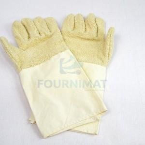 Long cotton glove
