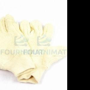 Short cotton glove