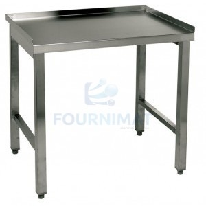Stainless steel table made-to-measure
