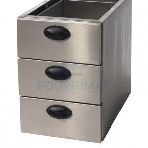 Stainless steel drawer chest