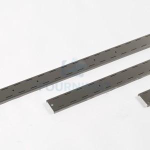 Adjustable stainless steel bracket for wall shelf