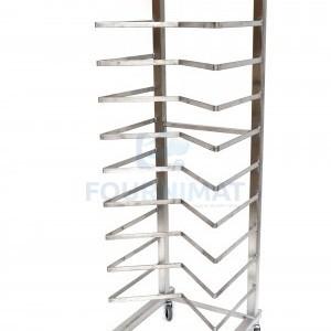 Stainless steel pastry rack M 12 floors