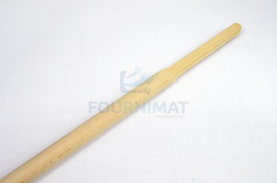 Round stick for wooden shovel
