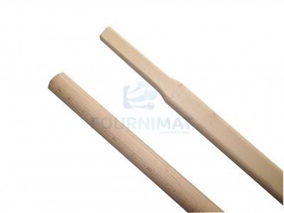 Stick for aluminium and chrome-plated shovel
