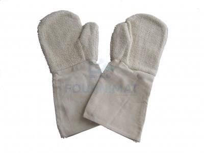 Cotton mitten and gloves