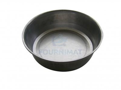 Platine à pain rond aluminisée ronde
