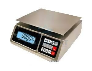 Electronic shop scales stainless steel
