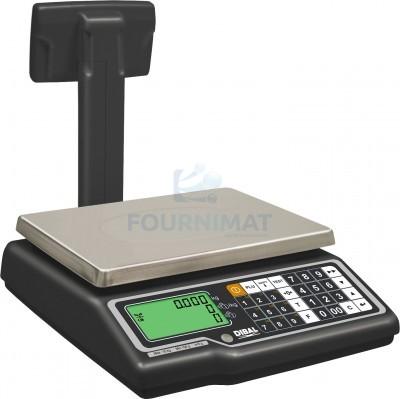 Balance électronique avec colonne