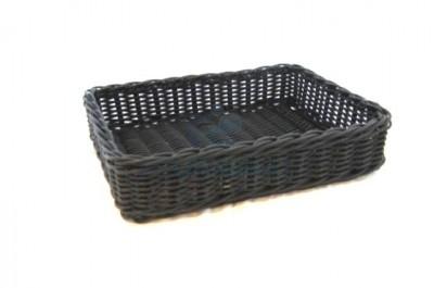 Rectangular composite basket 40x30x10cm