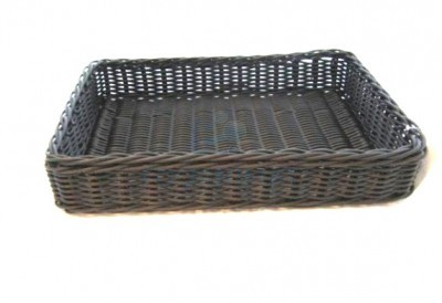 Rectangular composite basket 50x40x10cm