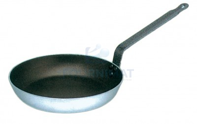 Round frying pan non-stick