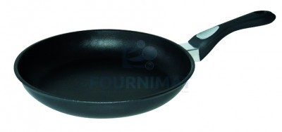 Round cast-iron frying pan 8mm