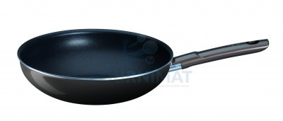 Cast-iron wok non-stick 8mm