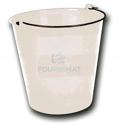 Graduated bucket with spout