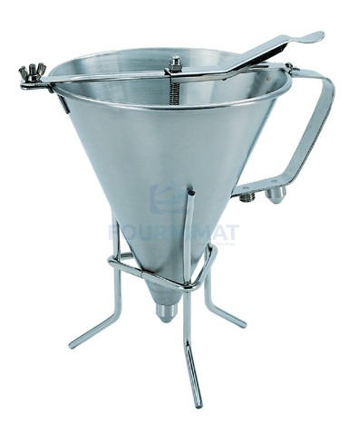Stainless steel funnel Budget for fondant