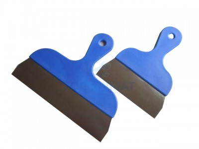 Chocolate spatula blue