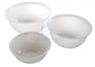 Half-round bowl HACCP