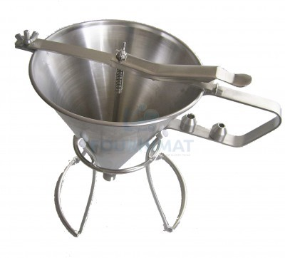 Automatic stainless steel funnel Budget