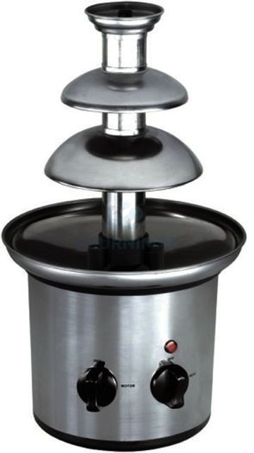 Stainless steel chocolate fountain H40cm