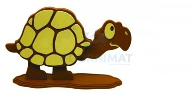 Flexible chocolate mould a tortoise