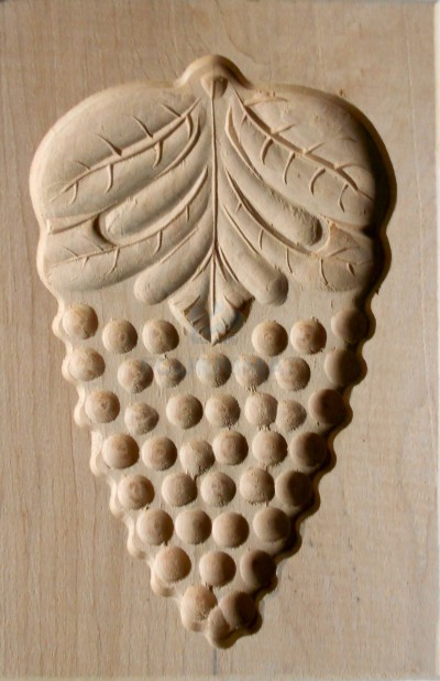 Speculoos mould grape