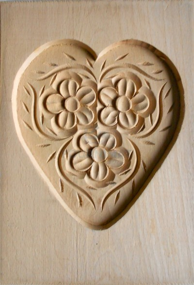 Speculoos mould big heart 17cm