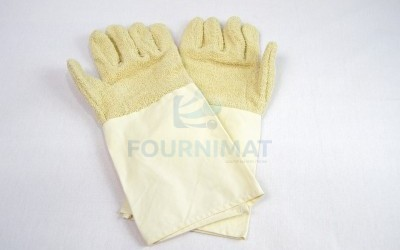 Long cotton glove