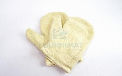 Short cotton mitten