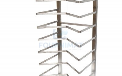 Stainless steel pastry rack M 12 floors