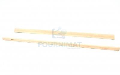 Latte en biais/bois pour chariot en bois