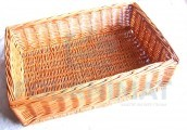 Wicker basket 40X58XH17 closed