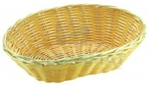 Panier osier professionnel coul naturel oval