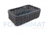 Rectangular composite basket 30x20x10cm
