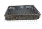 Rectangular composite basket 50x40x10cm