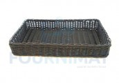 Rectangular composite basket 60x40cm