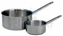 Stainless steel saucepan all heat sources