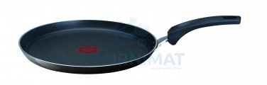 Cast-iron crepe pan non-stick