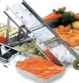 Professional mandoline stainless steel vegetable slicer without rack 60 blades
