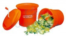 Manual spin dryer for vegetables big model removable ABS basket