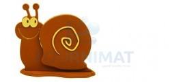 Moule à chocolat flexible un escargot