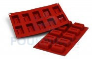 10 rectangular savarins 60x39mm 45ml