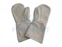 Cotton mitten and gloves