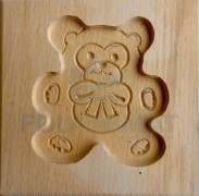 Speculoos mould bear cub 10cm